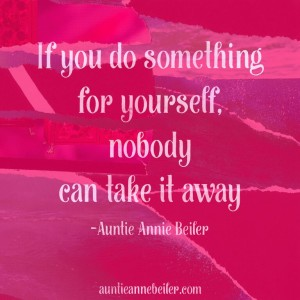 Anne Beiler - Do Something For Yourself