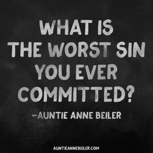Worst Sin