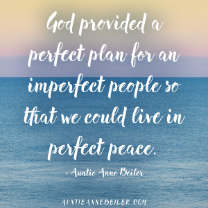 God's Perfect Plan