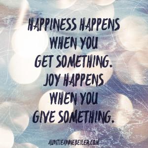 Happiness & Joy