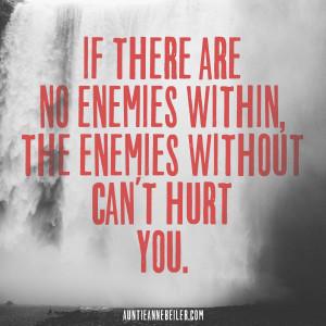Anne Beiler - Enemies Within & Without