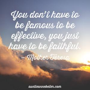 Anne Beiler - Fame Faith & Effectiveness