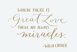 Great Love & Miracles