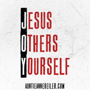 Jesus, Others, & Yourself