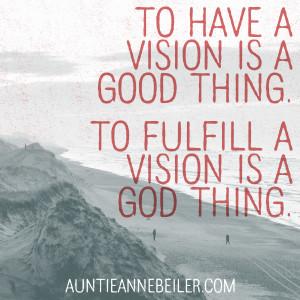 Anne Beiler - Vision